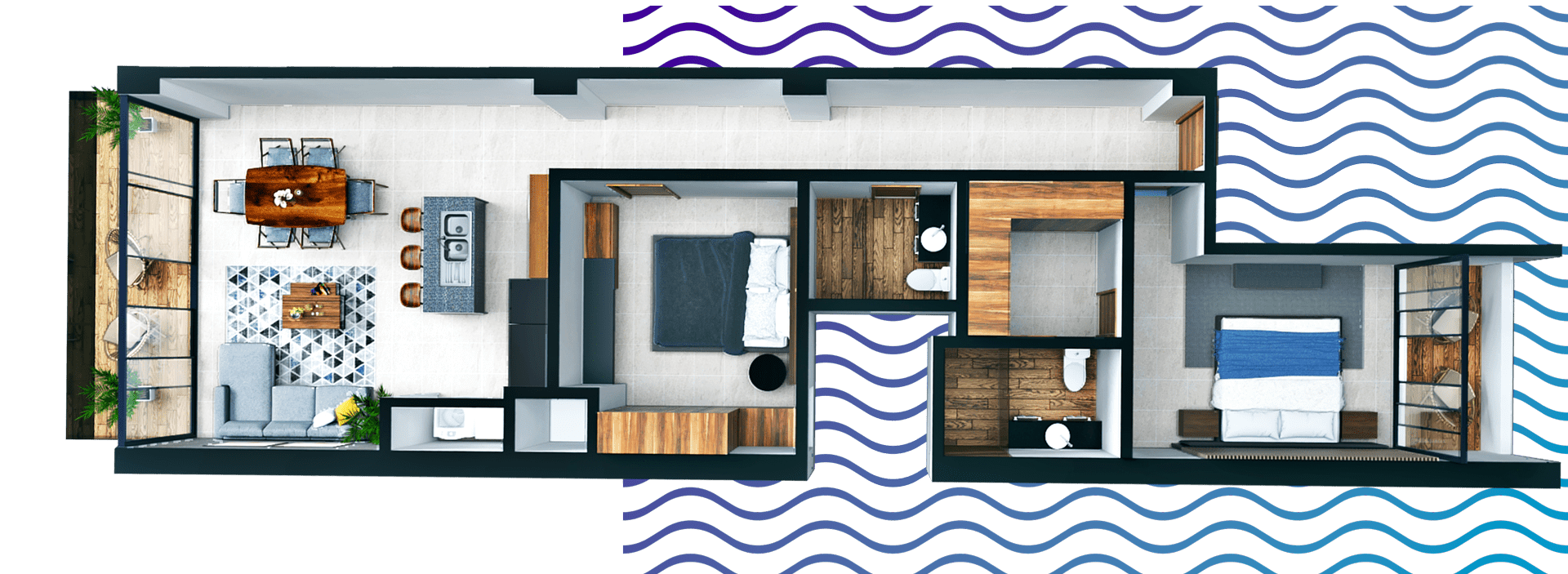 Modelo de Condominio