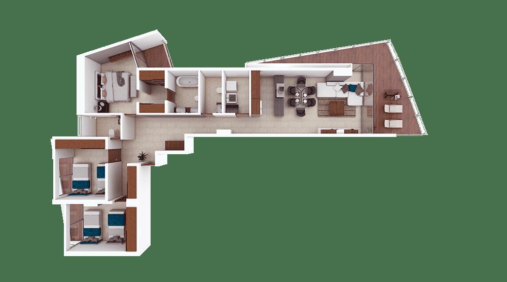 Condominios A y F