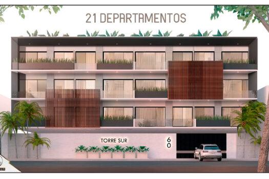 Torre Sur condominios cerca playa Mazatlán
